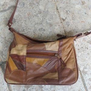 Handbags - Vintage Patchwork Genuine Leather Purse